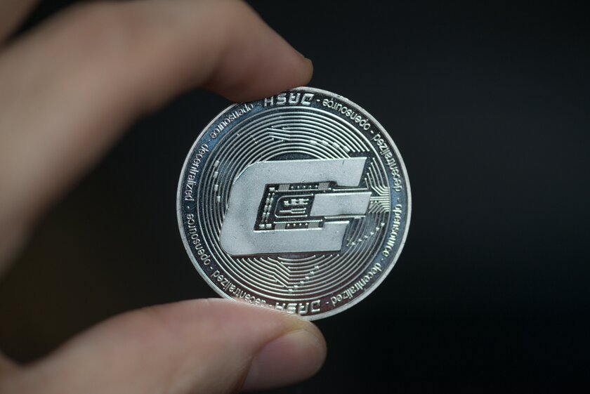 crypto coin digital dash dash
